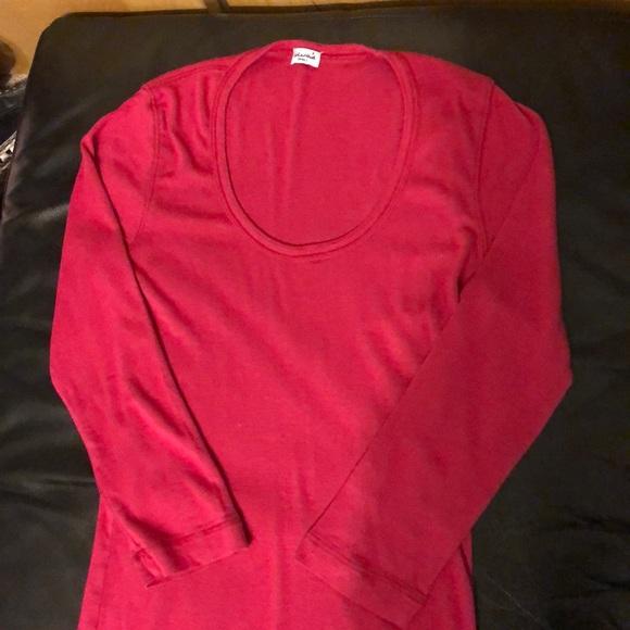 Splendid Tops - SPLENDID scoop neck 3/4 sleeve shirt